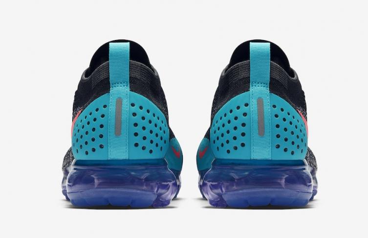 6832b5f599faf Nike Air VaporMax 2 Black Hot Punch - KicksOnFire.com