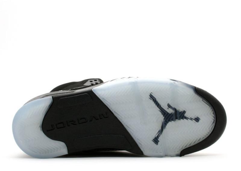 pretty nice cd1e0 f74ef Air Jordan 5 Black Metallic 2007 - KicksOnFire.com