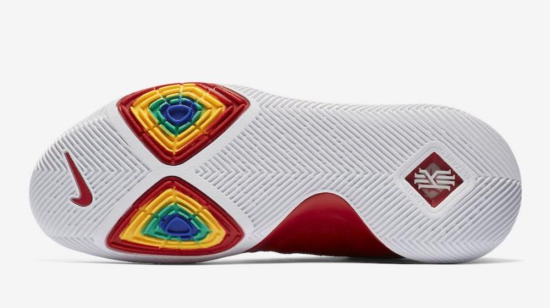separation shoes adbd5 8d622 Nike Kyrie 3 University Red Suede - KicksOnFire.com