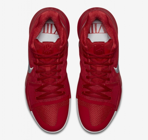 efdc0a9afb11 2017 new nike kyrie 3 all over university red wolf grey for sale
