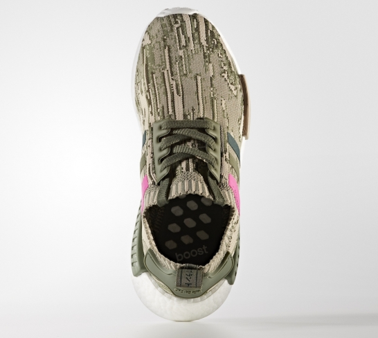 a284cdedb adidas WMNS NMD R1 Primeknit Green Night Shock Pink - KicksOnFire.com