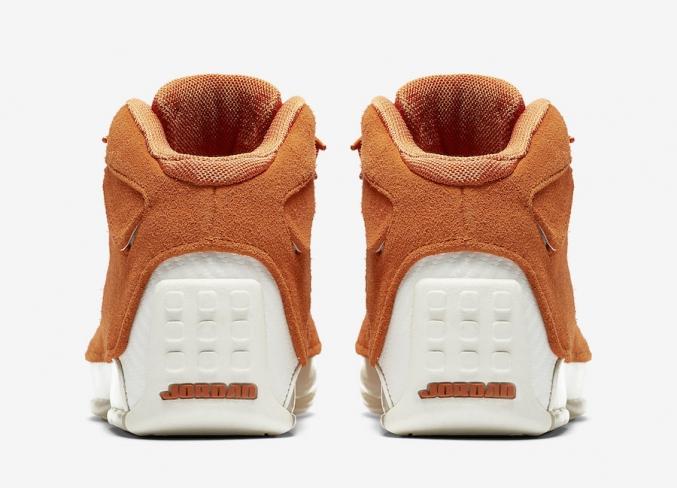 4146ce30b22 Air Jordan 18 Orange Suede - KicksOnFire.com
