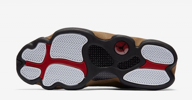 851955eaeb17e5 Air Jordan 13 Olive - KicksOnFire.com