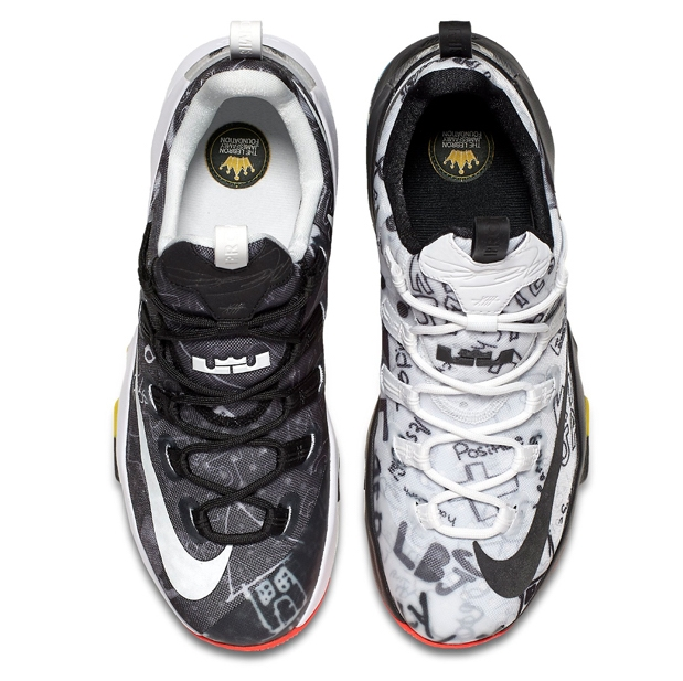 141ffade0908f Nike LeBron 13 Low - LeBron James Family Foundation - KicksOnFire.com