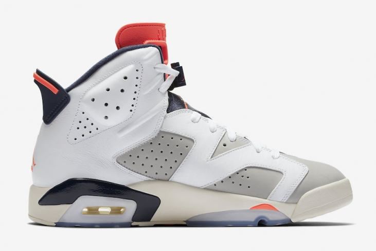 9a727fbacd409b Air Jordan 6 Tinker. Buy Now From  168 · Want. WANTS. 22638. COLOR. White Infrared  23-Neutral Grey-White-Sail