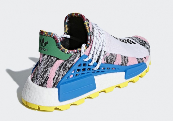 check out 1c84e e1ae4 Pharrell x adidas NMD Hu Trail Solar Pack Hi Res Red ...
