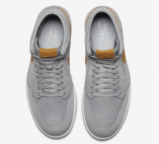 896ba991309635 Air Jordan 1 Retro High Flyknit Golden Harvest. Buy Now From  149 · Want.  WANTS. 1325. COLOR. Wolf Grey Golden Harvest-Gum Yellow