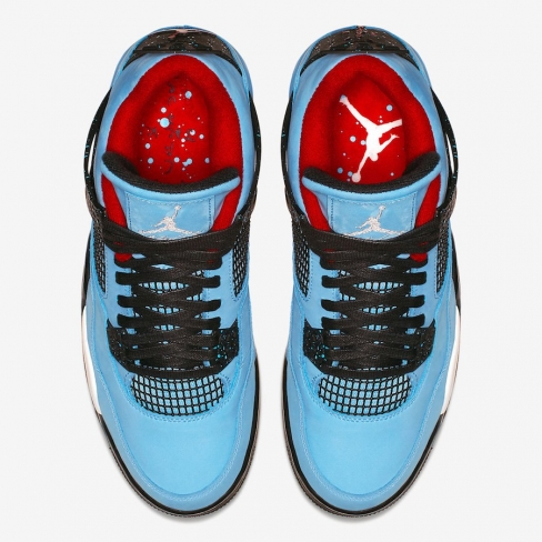 low priced ab7bb cbd7a Travis Scott x Air Jordan 4 Cactus Jack Houston Oilers ...