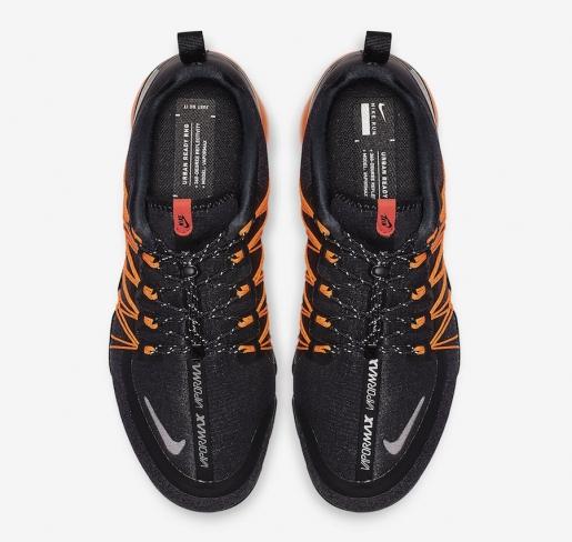 4fcf1d7637d Nike Air VaporMax Run Utility Black Orange - KicksOnFire.com