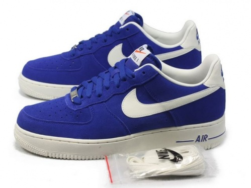 9c62f6d108 Nike Air Force 1 Low - Hyper Blue   Sail - KicksOnFire.com