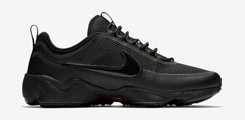 4ea923650fa3 Nike Zoom Spiridon Ultra Triple Black - KicksOnFire.com