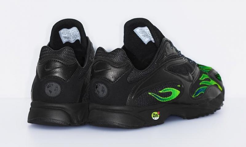 c7f96efa2a5b Supreme x Nike Zoom Streak Spectrum Plus Black - KicksOnFire.com