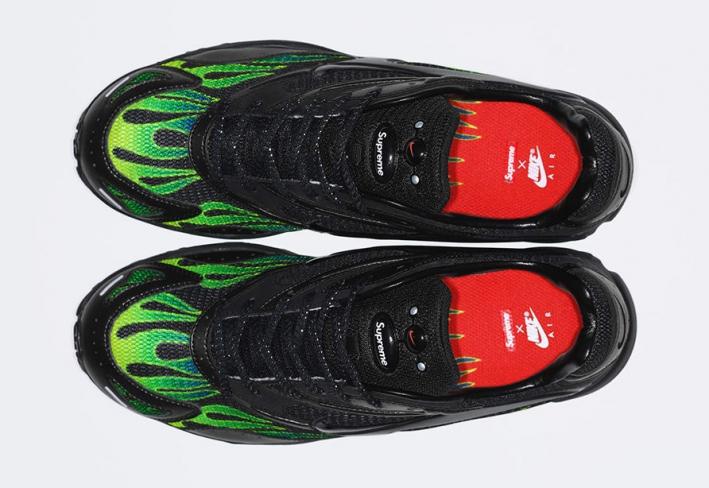 61813952103d2 Supreme x Nike Zoom Streak Spectrum Plus Black - KicksOnFire.com