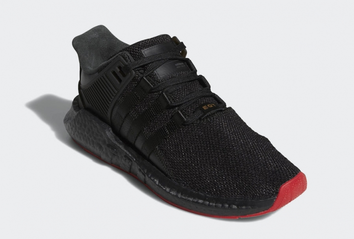 cheap for discount 90b58 363f8 adidas EQT Support 93/17 Red Carpet Pack Core Black ...