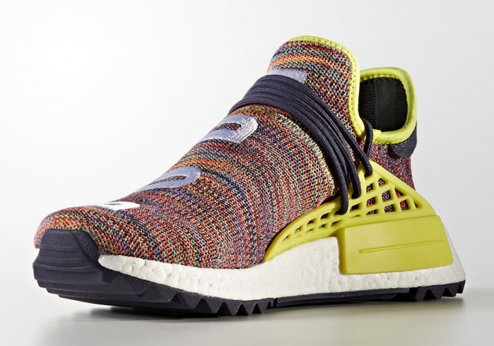 sports shoes 3fb77 8f021 Pharrell x adidas NMD Hu Trail Multicolor - KicksOnFire.com
