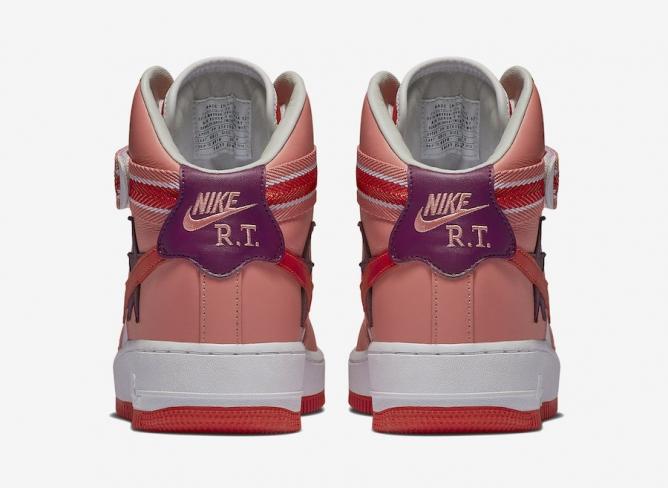 big sale 53444 9ab0a Nike Air Force 1 High x RT Victorious Minotaurs Sunblush - KicksOnFire.com