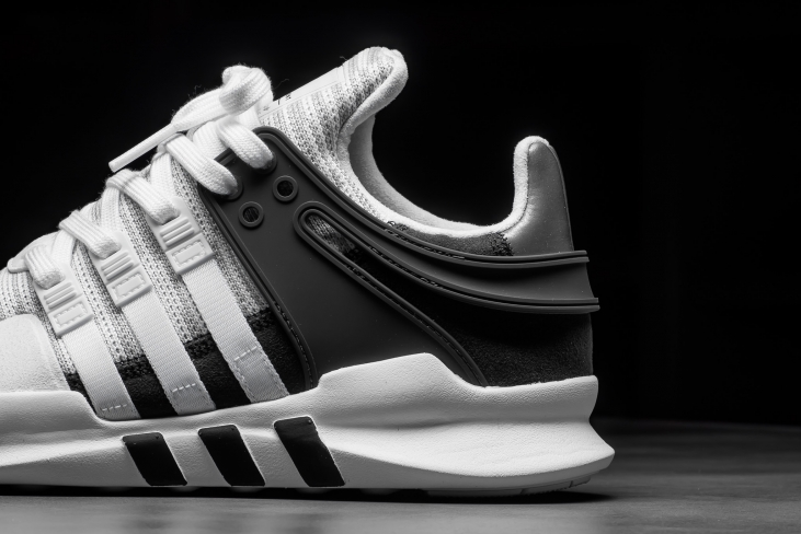 reputable site b80a9 79782 adidas EQT Support ADV White Black - KicksOnFire.com