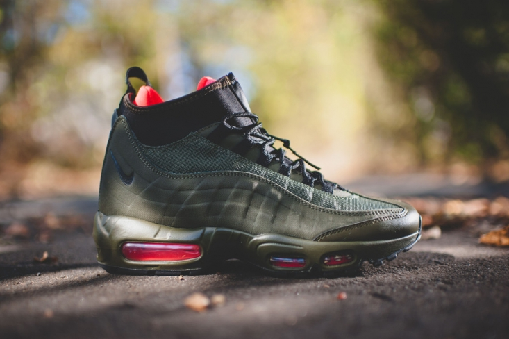 Nike Air Max 95 SneakerBoot Dark Loden Where To Buy