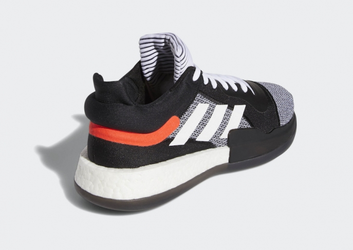 adidas Marquee Boost Low Core Black Cloud White - KicksOnFire.com d2ab83a8c