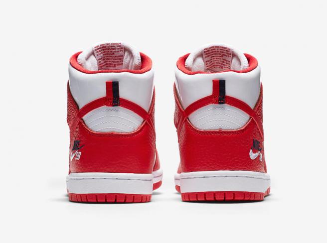 fb59988e2e15 Nike SB Dunk High Pro Dream Team 92 University Red - KicksOnFire.com
