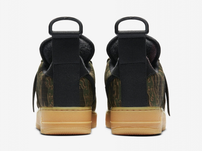 50e3d3b4a6880 Carhartt WIP x Nike Air Force 1 Low Utility Tiger Camo - KicksOnFire.com