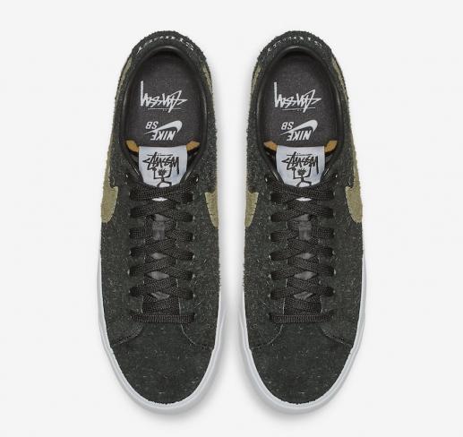new product f6df0 dc5e7 Stussy x Nike SB Blazer Low - KicksOnFire.com