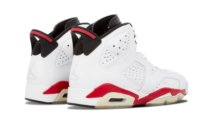 competitive price 55da4 8f77d Air Jordan 6 White Varsity Red (2010) - KicksOnFire.com