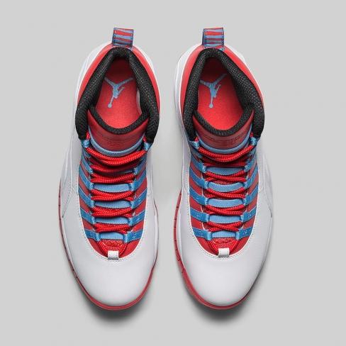 98cabbdde70c Air Jordan 10 - Chicago Flag. Buy Now From  234 · Want. WANTS. 11420.  COLOR. White   University Blue - Black - Bright Crimson