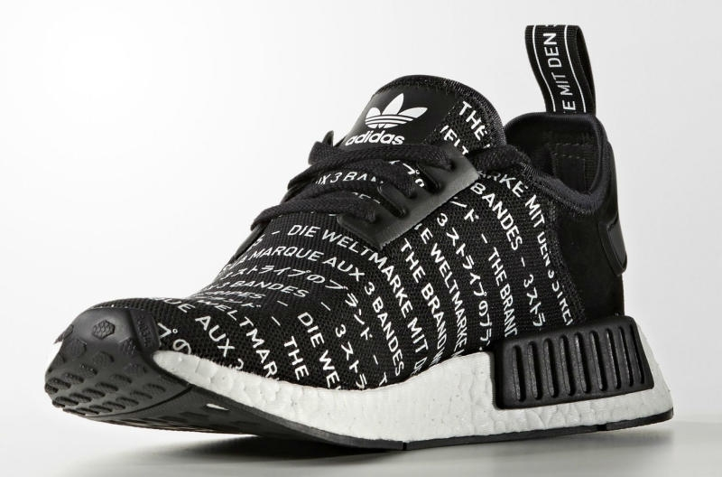 cad59430285ed adidas NMD Blackout Whiteout - Black - KicksOnFire.com