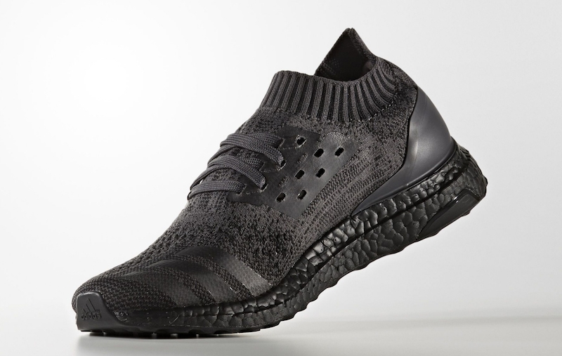 Adidas Ultra Boost Uncaged Triple Black, Adidas NMD R1