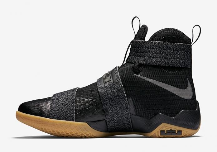 Nike LeBron Zoom Soldier 10 Black Gum