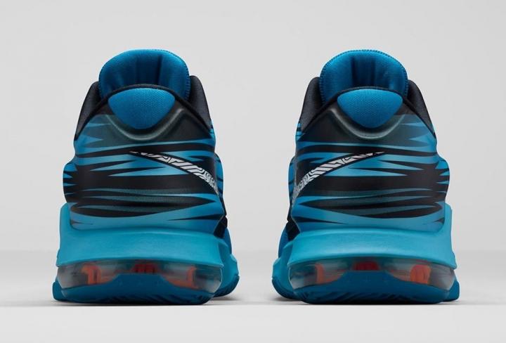 best service a9bd4 2d7bb Nike KD 7 Lacquer Blue - KicksOnFire.com