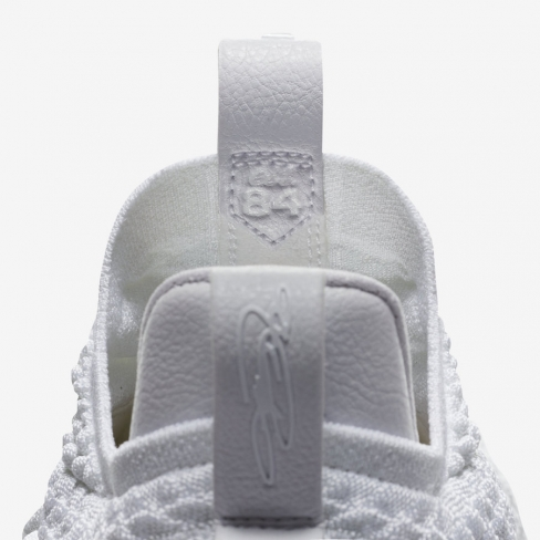 863fe49d618b4 Nike LeBron 15 Low White Metallic - KicksOnFire.com