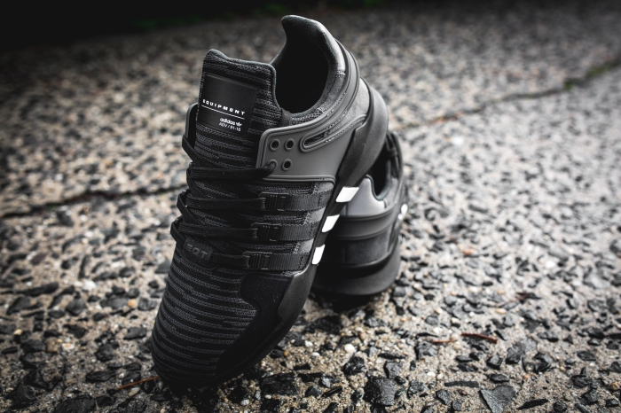 adidas eqt black and grey
