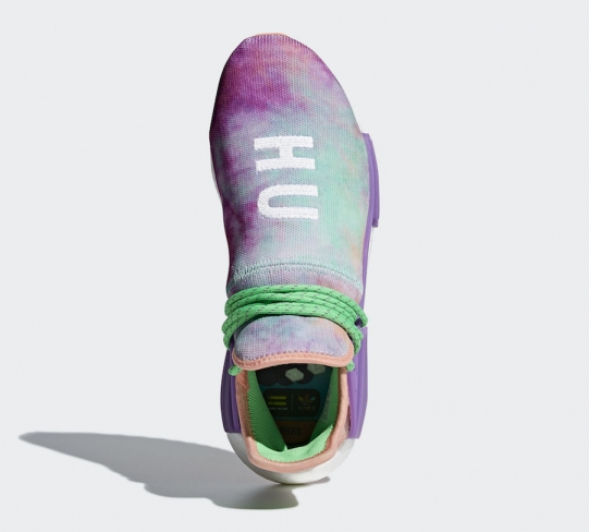 9f63212dde7b10 Pharrell x adidas NMD Hu Trail Holi Chalk Coral. Buy Now From  274 · Want.  WANTS. 9030. COLOR. Chalk Coral Flash Green-Lab Purple