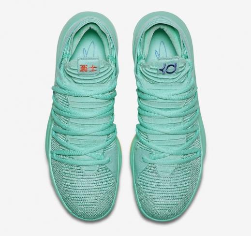 buy online 64345 43920 Nike KD 10 Hyper Turquoise - KicksOnFire.com