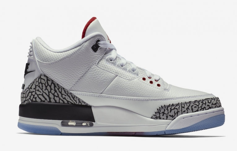 Air Jordan 3 Free Throw Line - KicksOnFire.com 8ef4243b6