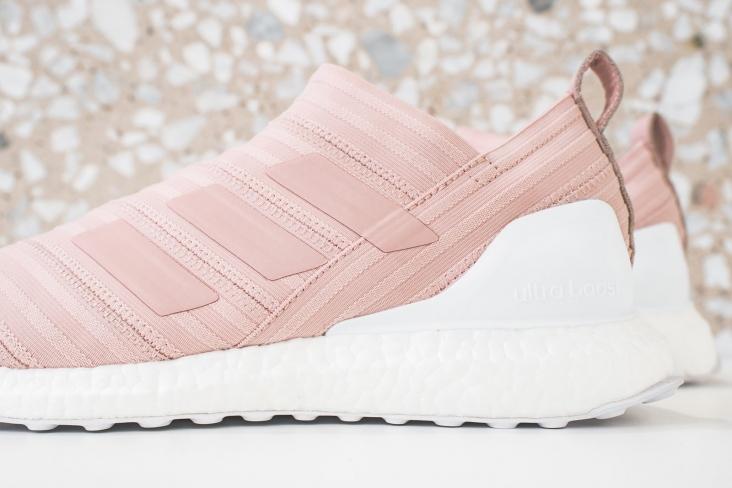 hot sale online 047fb 6cd47 KITH x adidas Nemeziz Ultra Boost 17+ Miami Flamingos - Kick