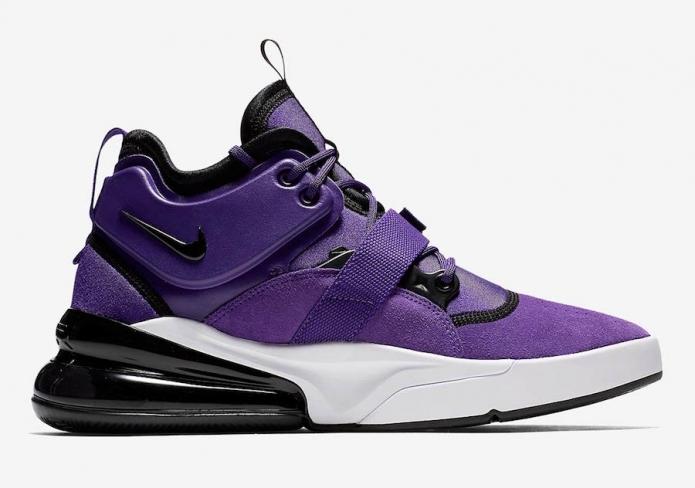 23aed3c345 Nike Air Force 270 Court Purple - KicksOnFire.com