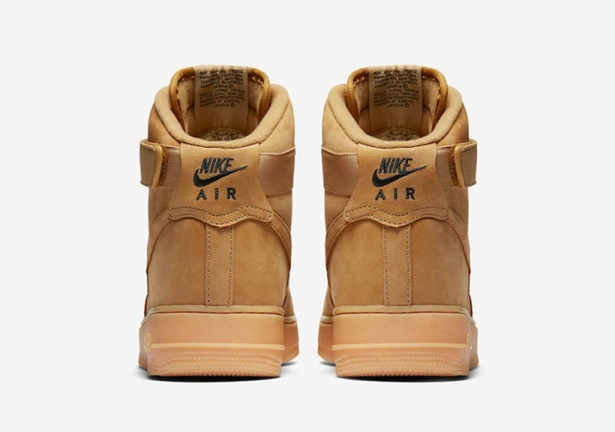online store 18a28 2735b Nike Air Force 1 High Flax - KicksOnFire.com