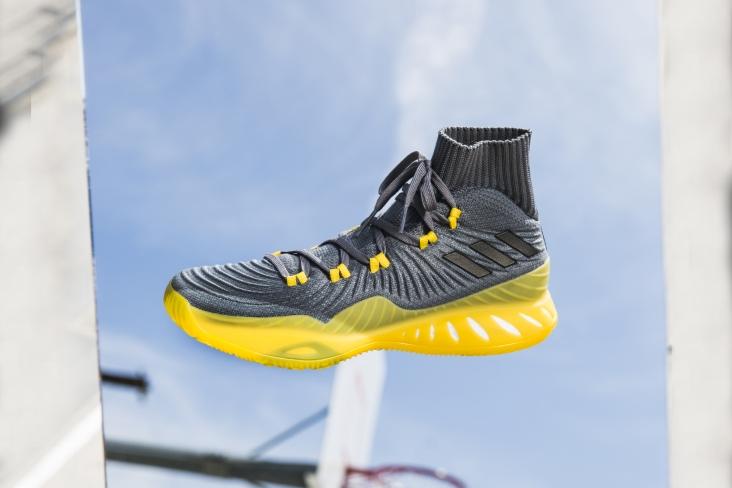 Adidas Crazy explosivo 17 primeknit amarillo solar