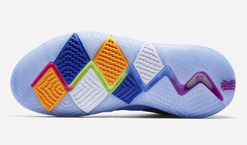timeless design 840f0 497f2 Nike Kyrie 4 Confetti - KicksOnFire.com