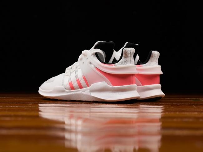Adidas eqt appoggio avanzata crystal white turbo rosso