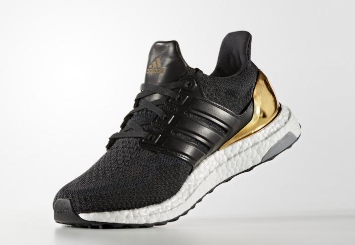 huge discount a29e1 b0314 ... Black BB6170 adidas Ultra Boost Gold Medal - KicksOnFire.com ...