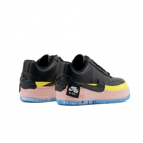 Nike WMNS Air Force 1 Jester XX Black Sonic Yellow
