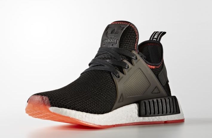 nmd black red