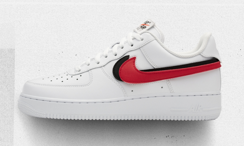 2air force 1 swoosh pack