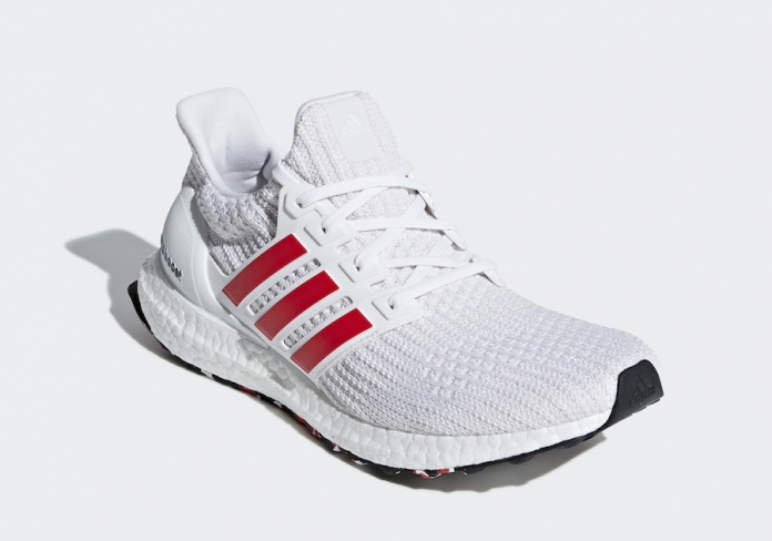 buy popular a46d1 24b73 adidas Ultra Boost 4.0 Red Stripes - KicksOnFire.com