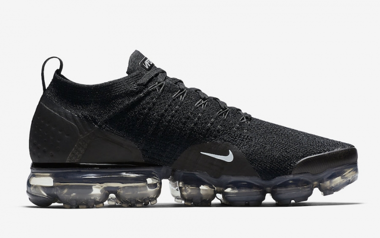 another chance fc54d 36c57 Nike Air VaporMax 2 Black Dark Grey - KicksOnFire.com