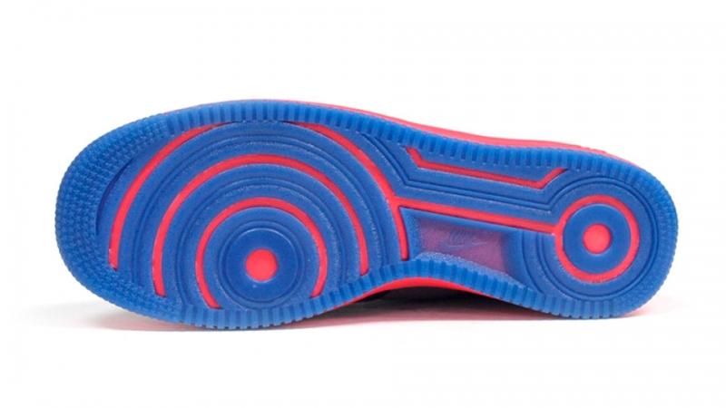 Nike Lunar Force 1 Fuse Leather Wolf Grey Deep Royal Blue